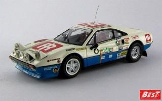 BEST9218 - FERRARI 308 GTB - Rally Elba 1984 - Ormezzano / Amati