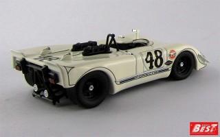 BEST9219 - PORSCHE 908-02 FLUNDER - Sebring 1970 - McQueen / P. Revson