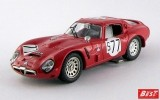 BEST9229 - ALFA ROMEO TZ2 - Nurburgring 1966 - Bianchi / Schults