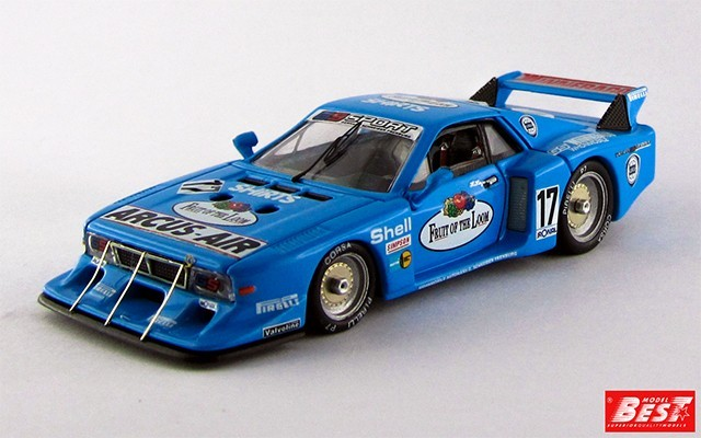 BEST9234 - LANCIA BETA MONTECARLO TURBO - Nurburgring 1981 - Heyer / Ghinzani