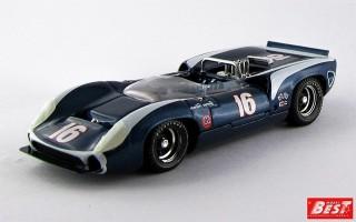 BEST9237 - LOLA T 70 SPYDER - Riverside 1967 - Follmer