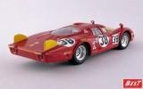 BEST9252 - ALFA ROMEO 33.2 CODA LUNGA - Le Mans 1968 - Facetti / Dini
