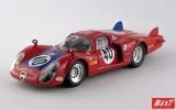 BEST9255 - ALFA ROMEO 33.2 CODA LUNGA - Le Mans 1968 - Casoni / Biscaldi