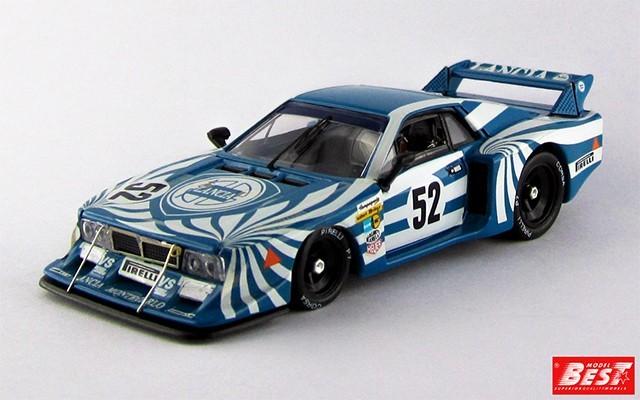 BEST9273 - LANCIA BETA MONTECARLO TURBO - Le Mans 1980 - Alen / Ghinzani / Brancatelli