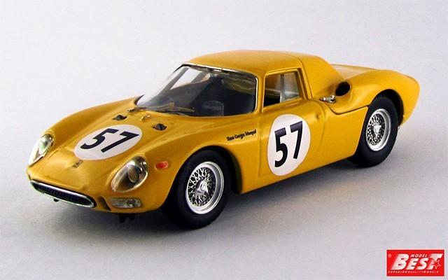 BEST9277 - FERRARI 250 LM - Francorchamp 1966 - Noblet / Dernier
