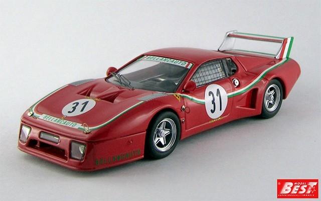 BEST9279 - FERRARI 512 BB LM - Monza 1980 - Violati / Dini