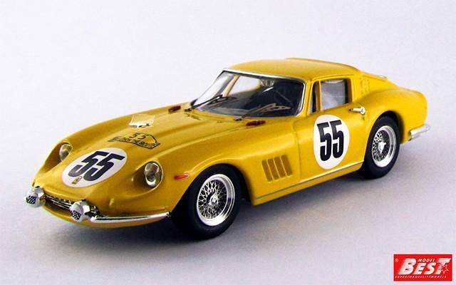 BEST9280 - FERRARI 275 GTB-4 - Nurburgring 1966 - Bianchi / De Keim