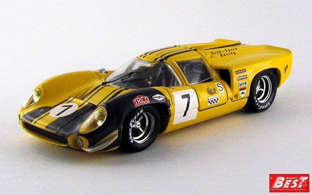 BEST9283 - LOLA T 70 COUPE' - Brands Hatch 1968 - Craft / Lieddel