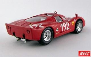 BEST9286 - ALFA ROMEO 33.2 - Targa Florio 1968 - Bianchi / Casoni
