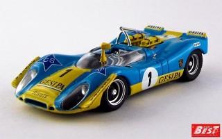 BEST9287 - PORSCHE 908-02 - Jarama 1970 - Alex / Soler Roig / Neuhaus
