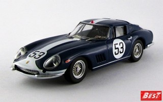 BEST9288 - FERRARI 275 GTB-4 - Monza 1969 - Vestey / Gaspar