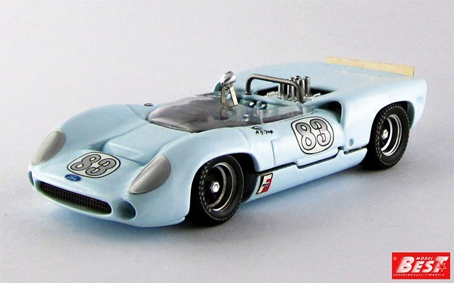 BEST9292 - LOLA T 70 SPYDER - Nassau 1966 - Foyt