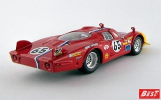 BEST9293 - ALFA ROMEO 33.2 CODA LUNGA - Le Mans 1968 - Troesch / Wendt
