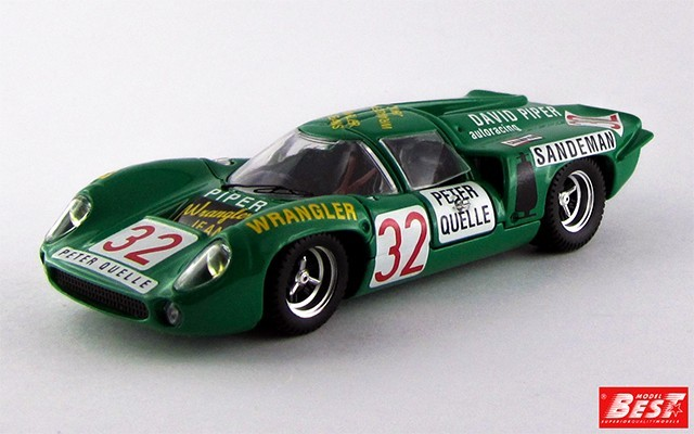 BEST9295 - LOLA T 70 COUPE' - Zeltweg 1969 - Piper / Quester