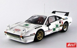 BEST9303 - FERRARI 308 GTB - Monza 1983 - Toivonen / Piirone
