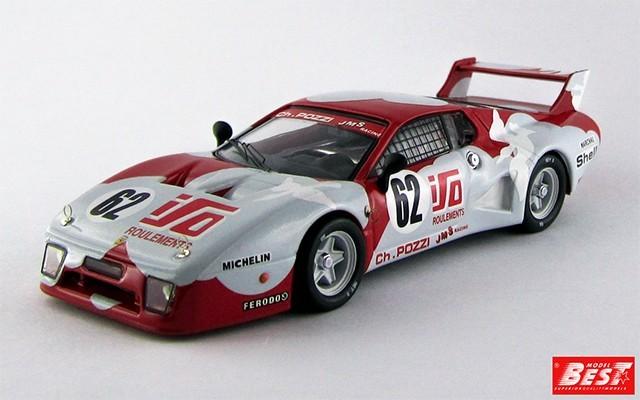 BEST9306 - FERRARI 512 BB LM - Le Mans 1979 - Andruet / Dini
