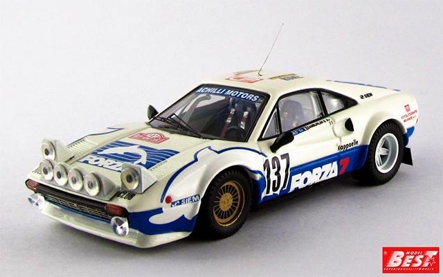 """BEST9308 - FERRARI 308 GTB - Montecarlo 1982 - Zamborlini / """"Nenes"""""""