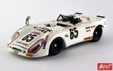 BEST9309 - PORSCHE 908-02 FLUNDER - Le Mans 1974 - Poirot / Rondeau