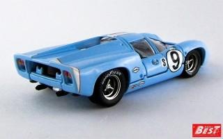 BEST9310 - LOLA T 70 COUPE' - Sebring 1968 - Patrick / Jordon