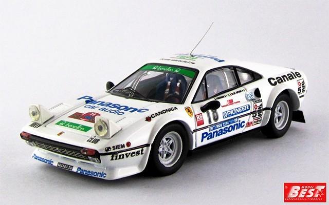 BEST9312 - FERRARI 308 GTB - Rally Elba 1982 - Tognana / De Antoni