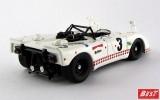 BEST9319 - PORSCHE 908-02 FLUNDER - Le Mans 1975 - Poirot / Ortega / Cuynet