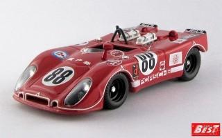 BEST9331 - PORSCHE 908-02 FLUNDER - Fuji 1971 - Kazato