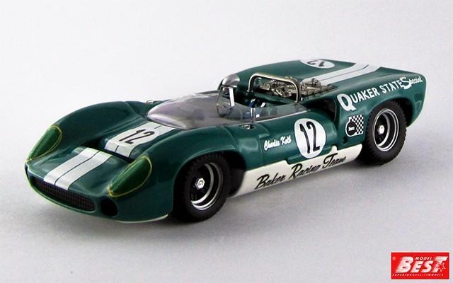 BEST9344 - LOLA T 70 SPYDER - Las Vegas 1967 - Charlie Kolb