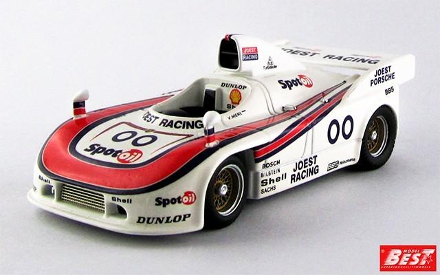 BEST9347 - PORSCHE 908-04 - Most 1981 - Merl